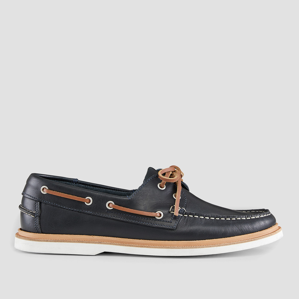 Vermont Navy Boat Shoes