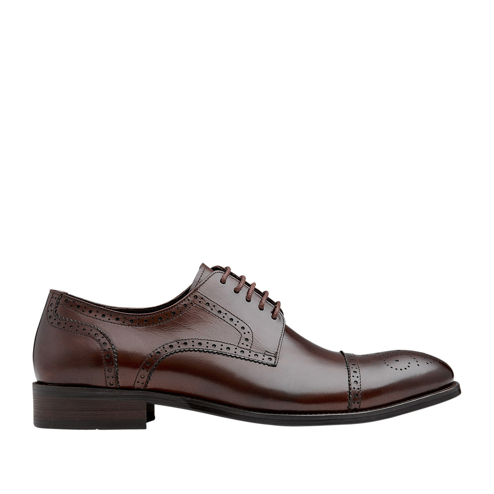 Modena Coffee Lace Up Shoes