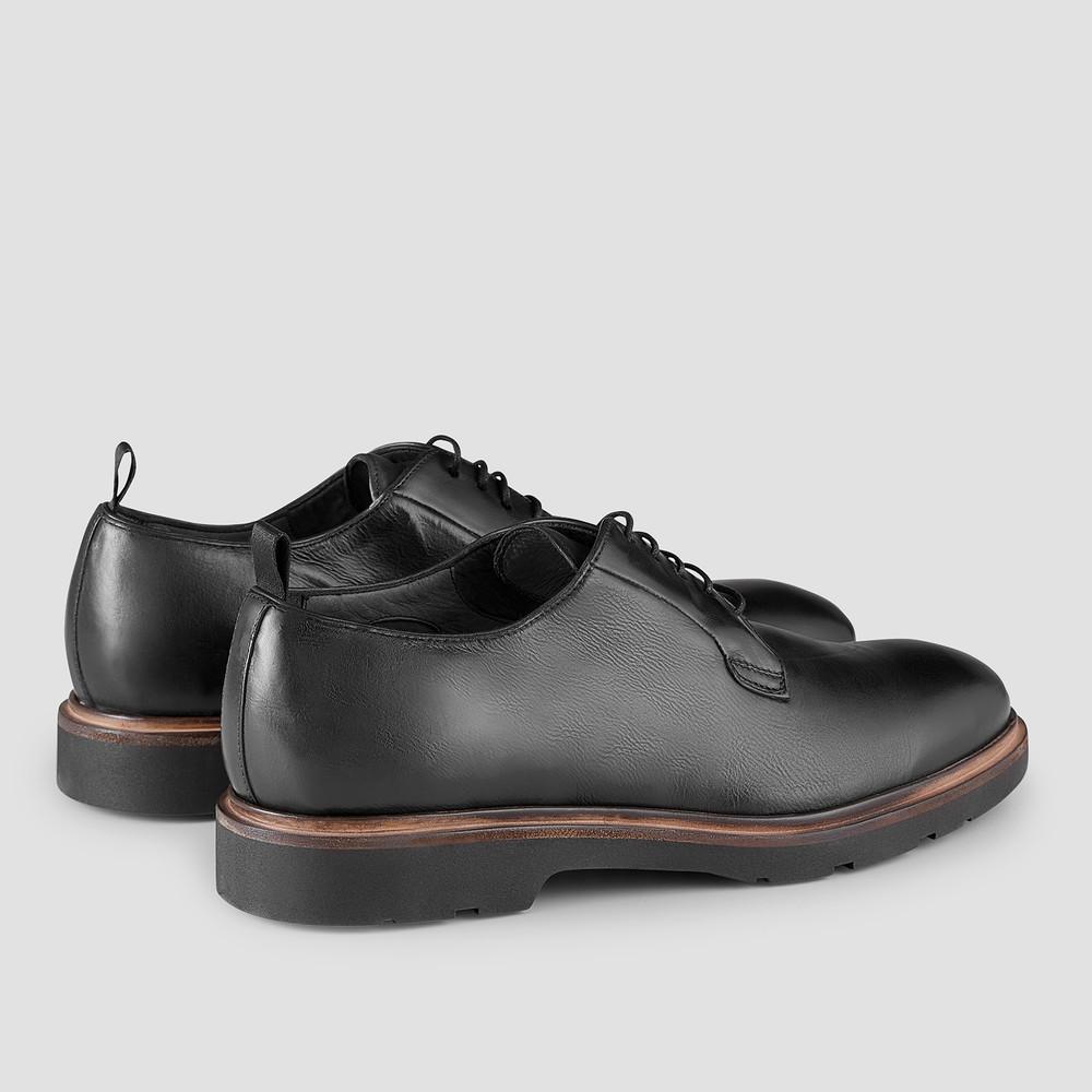 Sonny Black Derby Shoes