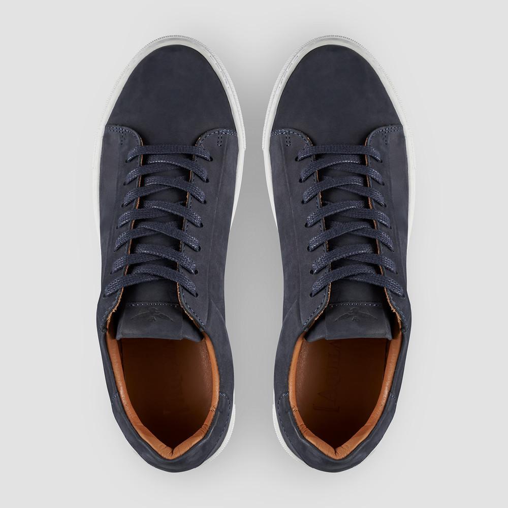 Deco Nubuck Navy Sneakers