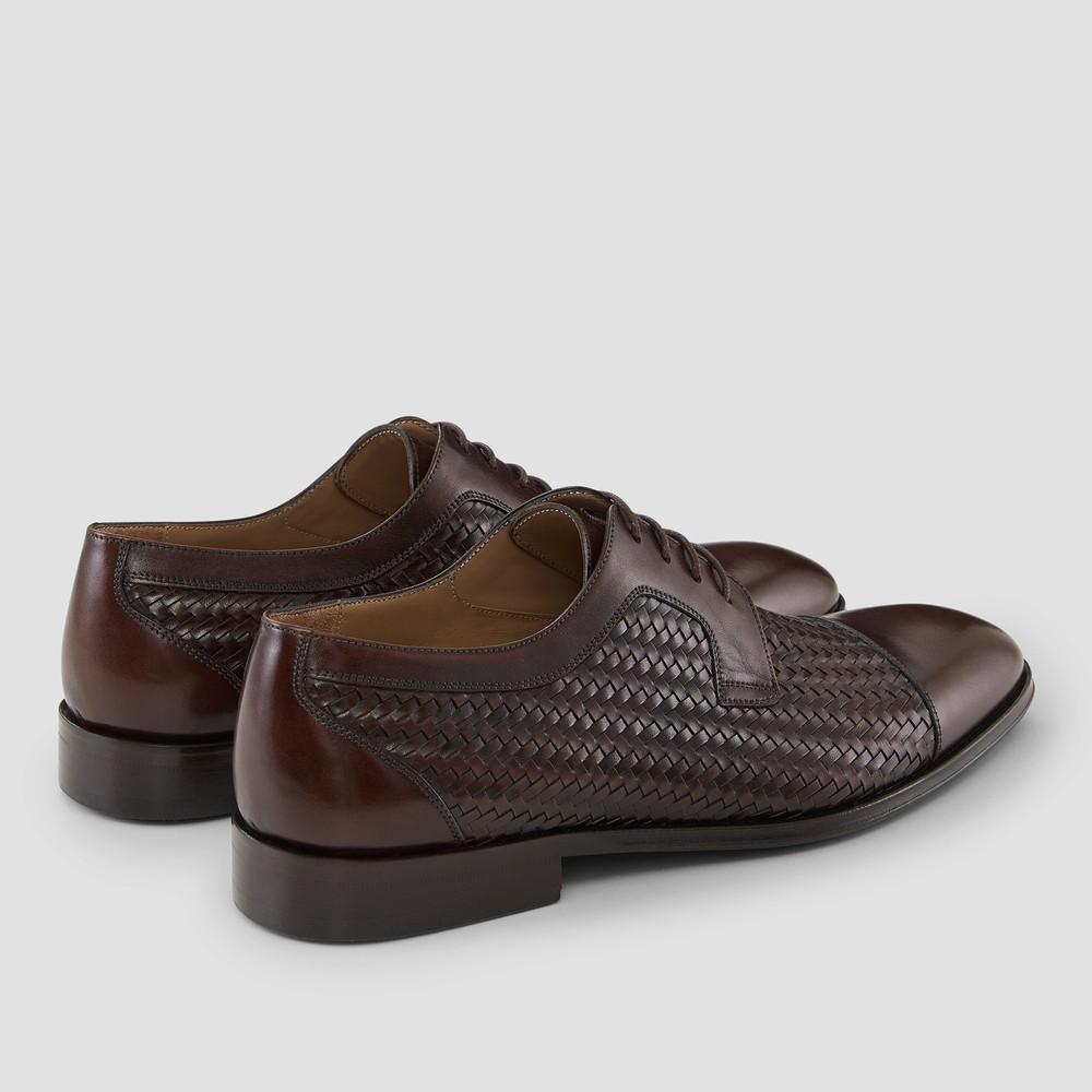 Cardiff Brown Dress Shoes