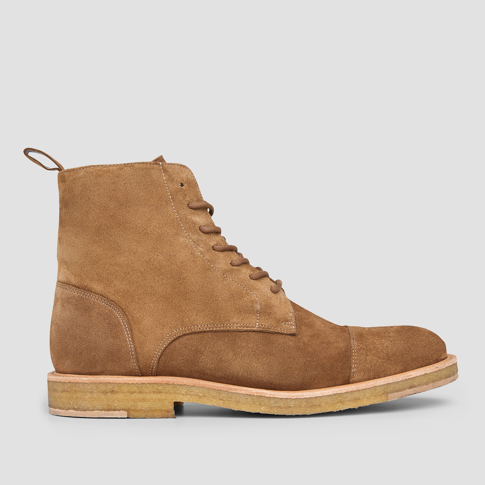 Cairo Sand Military Boots