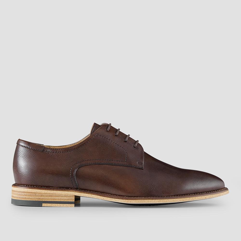 Dobin Brown Derby Shoes