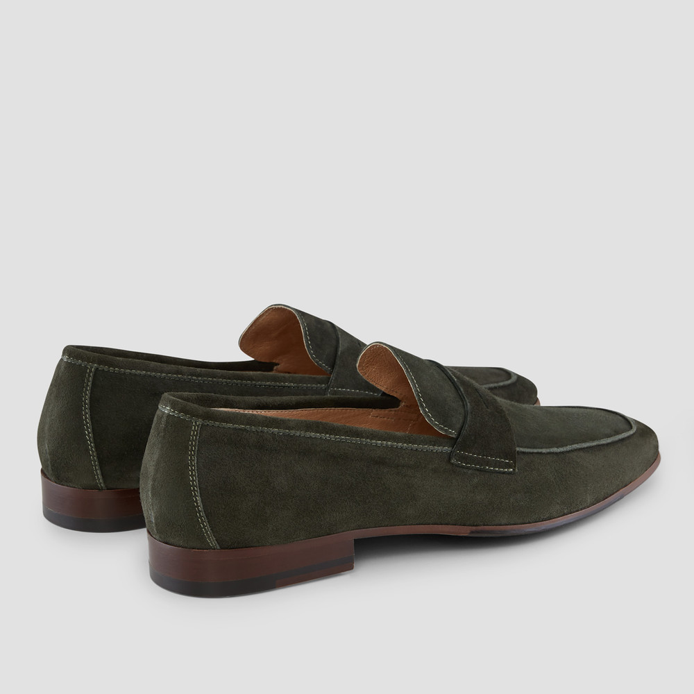 Matias Forest Penny Loafers