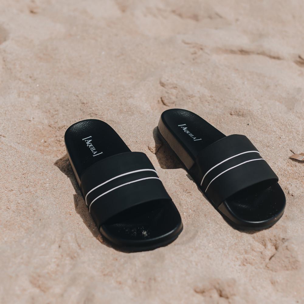 Cabana White Pool Slides