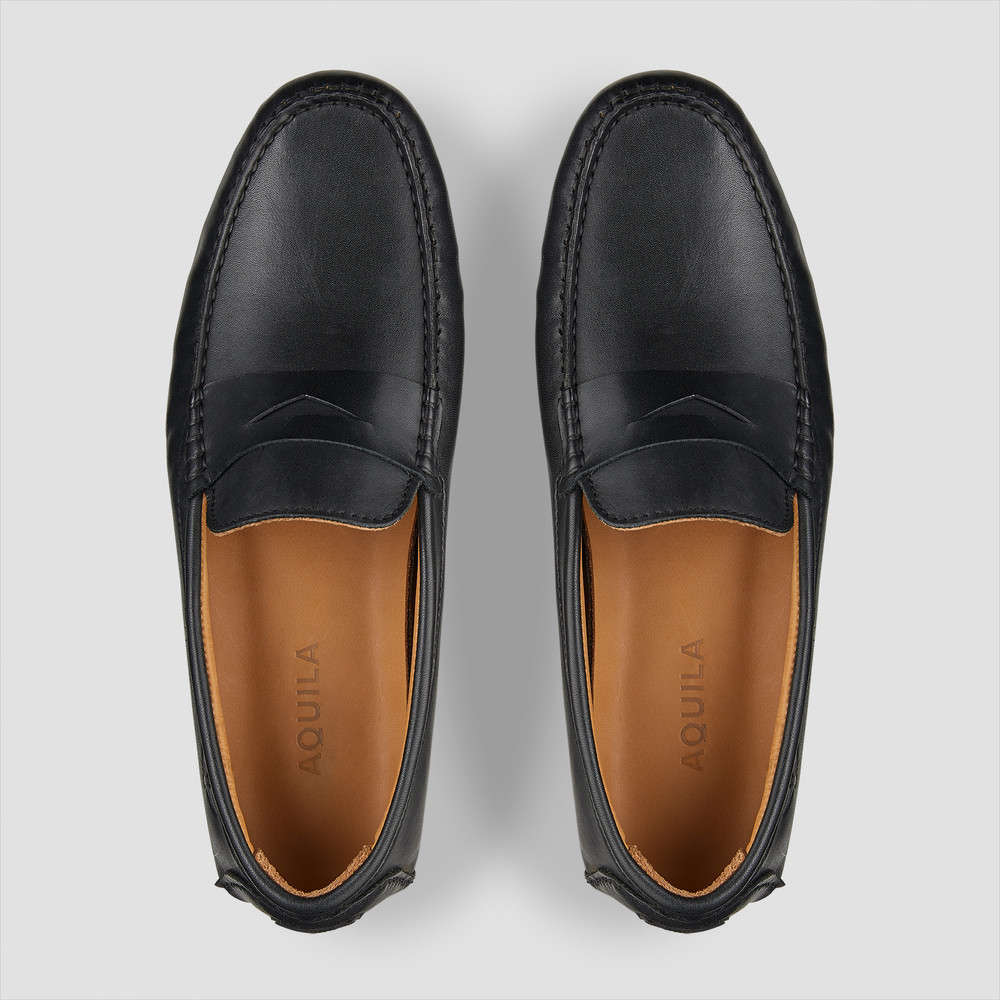Connor Black Driving Shoes