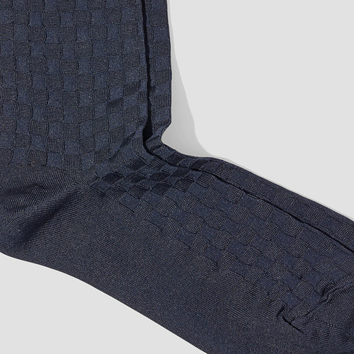 Smith Navy Socks