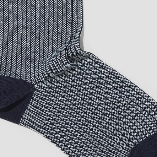 Daniel Navy Socks