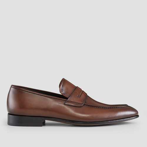 Adkins Brown Penny Loafers