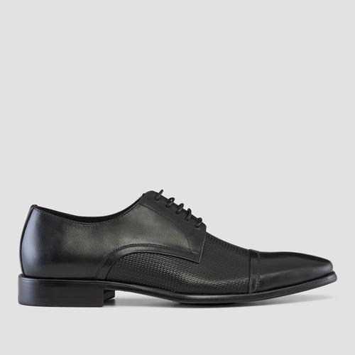 Parken Black Dress Shoes