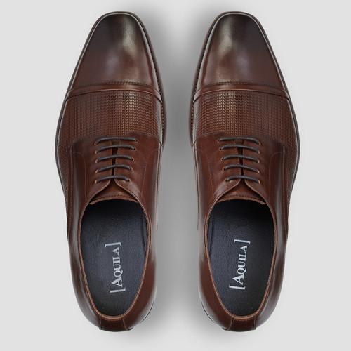 Parken Brown Dress Shoes