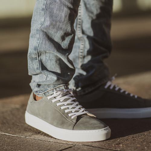 Deco Nubuck Dark Grey Sneakers
