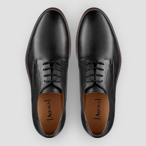Dobin Black Derby Shoes