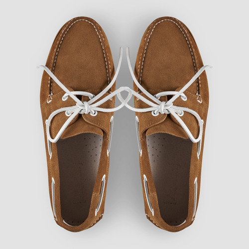 Admiral Tobacco Boat Shoes