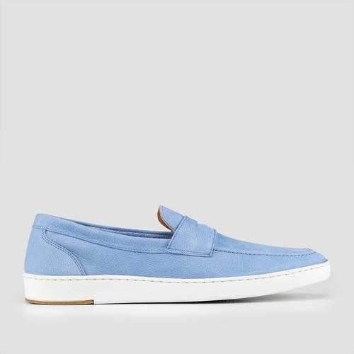 Balmain Blue Slip On Shoes