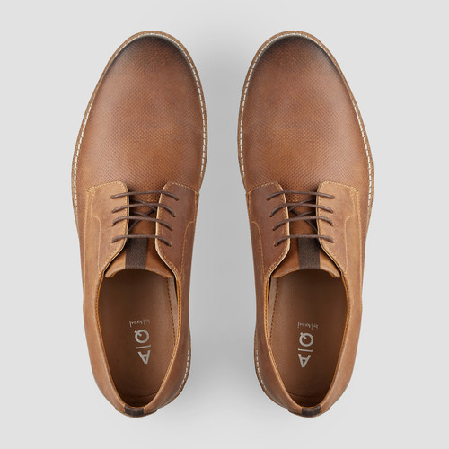 Heaton Mid Brown Lace Up Shoes
