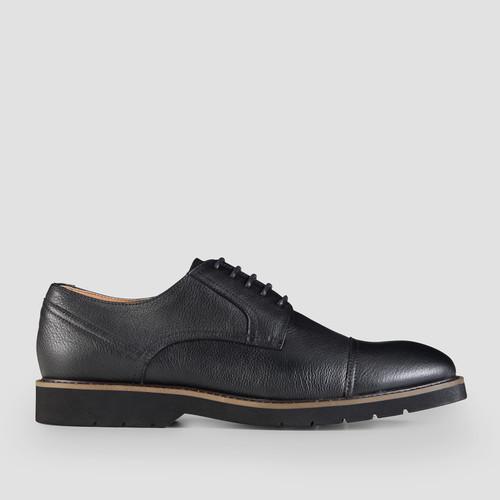 Hartlett Black Lace Up Shoes