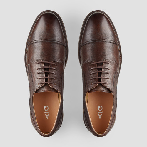 Hartlett Brown Lace Up Shoes