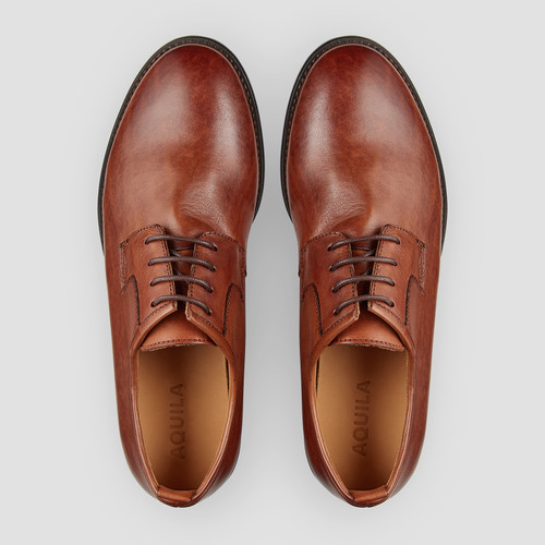 Hudley Whiskey Lace Up Shoes