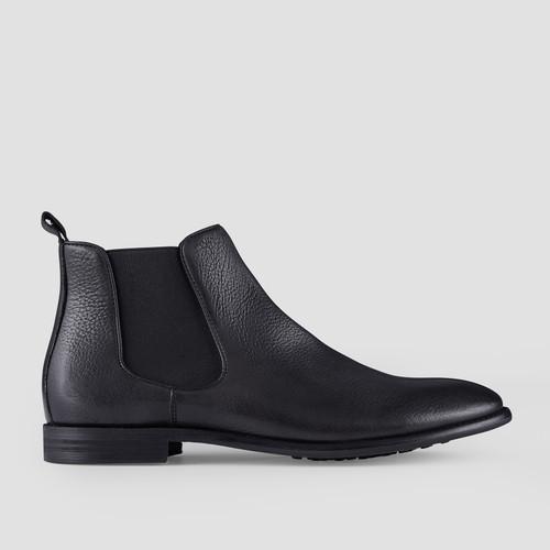 Hoskea Black Chelsea Boots