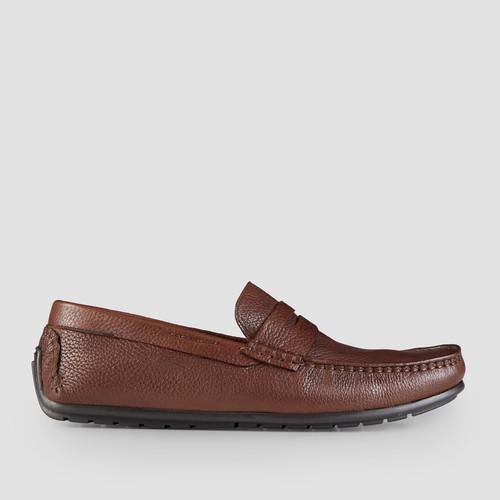 Hewitt Tan Driving Shoes