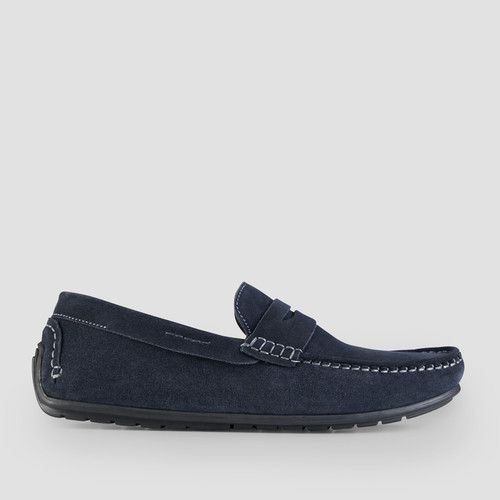 Deluca Navy Driving Shoes