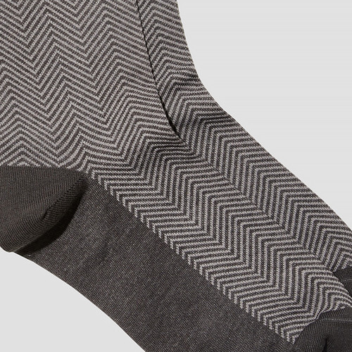 Max Grey Socks