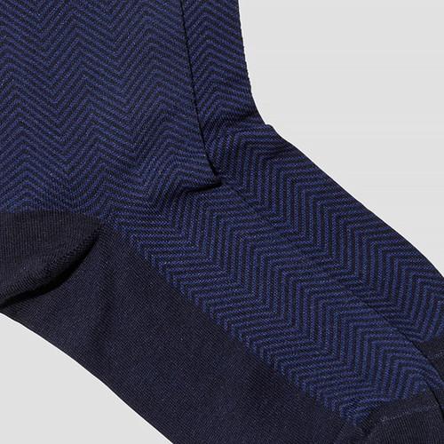 Max Navy Socks