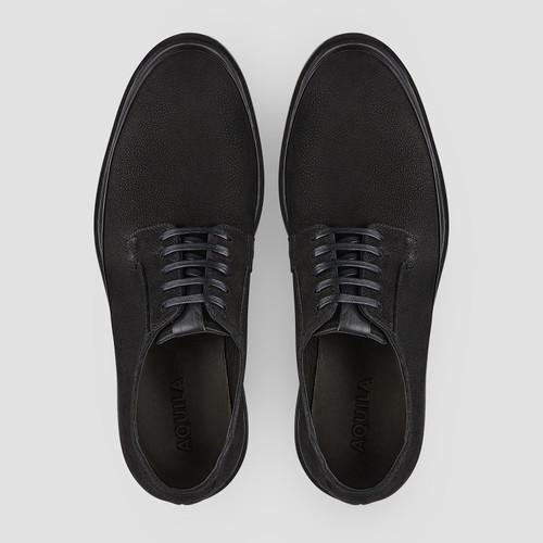Wick Black Lace Up Shoes