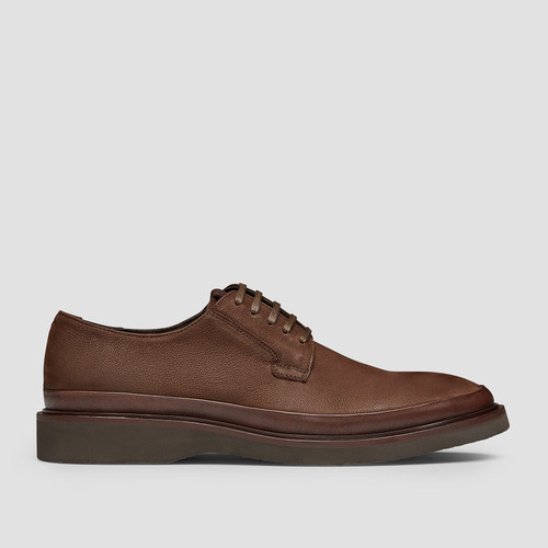 Wick Brown Lace Up Shoes