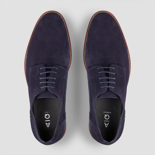 Gabriel Navy Lace Up Shoes