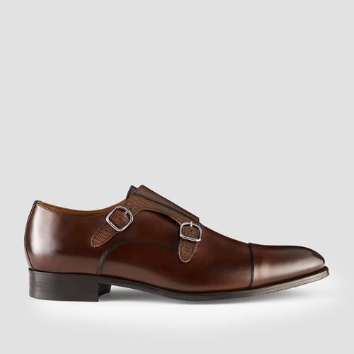 Defoe Brandy Monk Strap Shoes