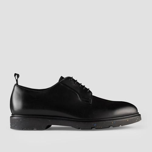 Mondo Black Derby Shoes