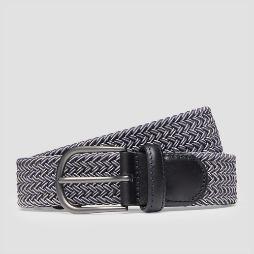 Mercury Navy/ White Belt