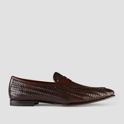 Lavine Dark Brown Loafers