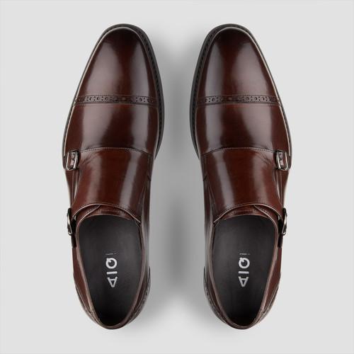 Dwayne Brown Monk Strap Shoes
