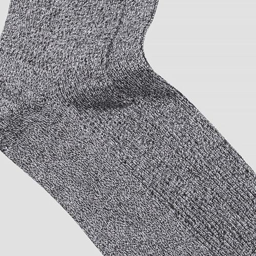 Zan Black Marle Sock