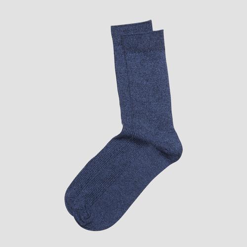 Zan Navy Marle Sock