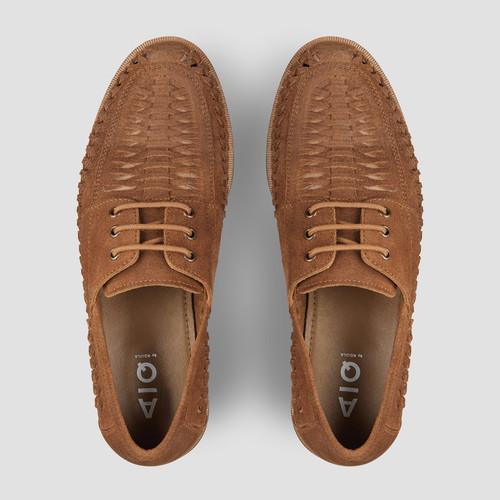 Rowan Suede Tan Casual Shoes