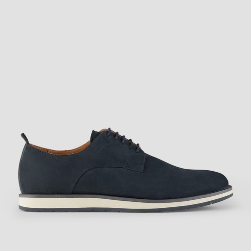 Werner Navy Lace Up Shoes