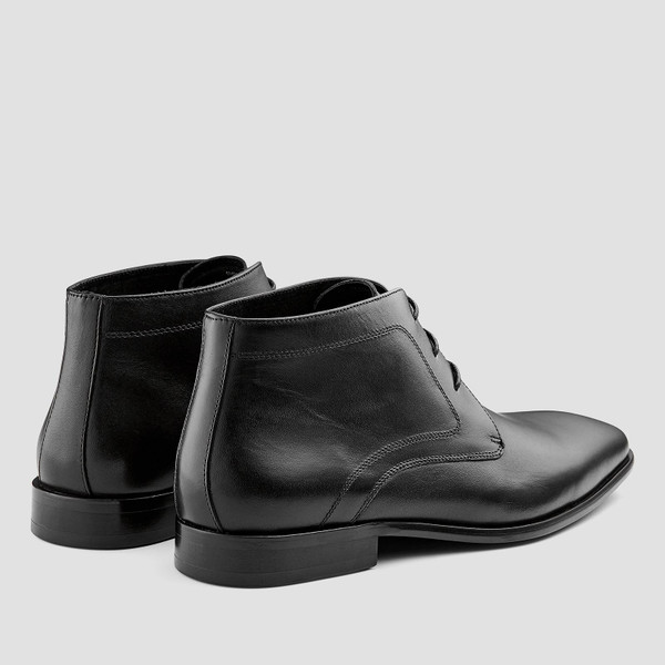 Raydon Black Ankle Boots
