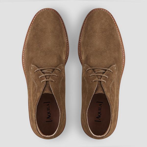 Diego Khaki Desert Boots