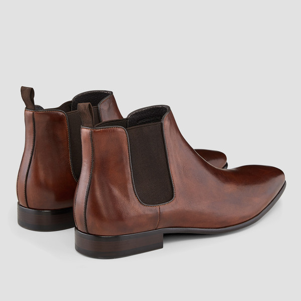 Warnock Brown Chelsea Boots