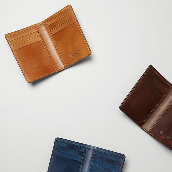 Archie Cognac Card Wallet