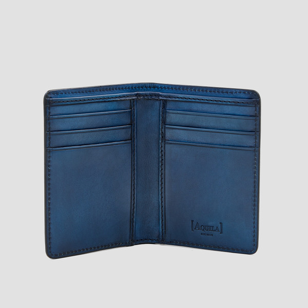 Archie Navy Card Wallet