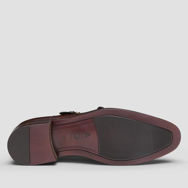 Dublin Brown Monk Strap Shoes