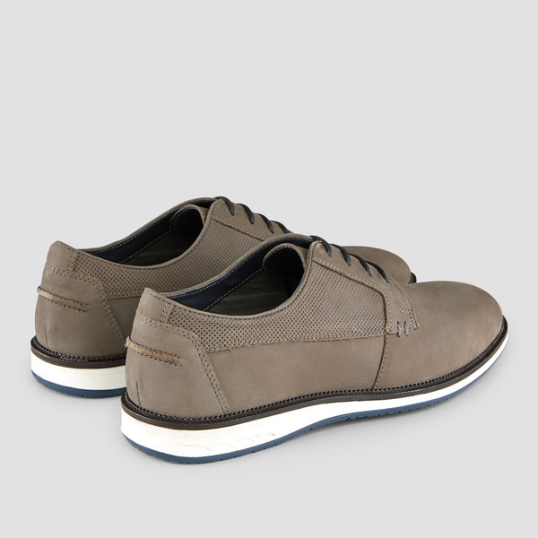 Saville Grey Casual Shoes