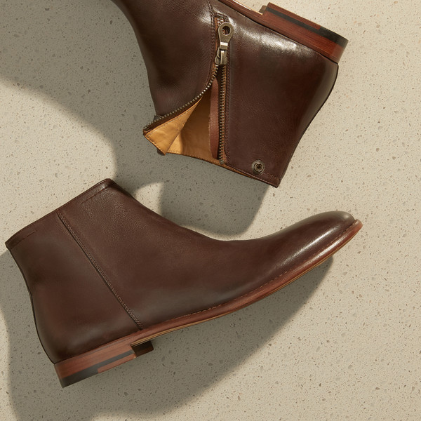 Devland Brown Ankle Boots