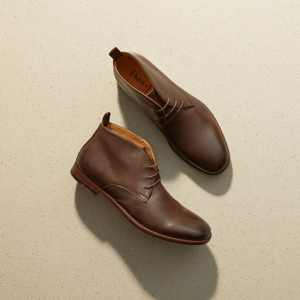 Delmore Brown Ankle Boots
