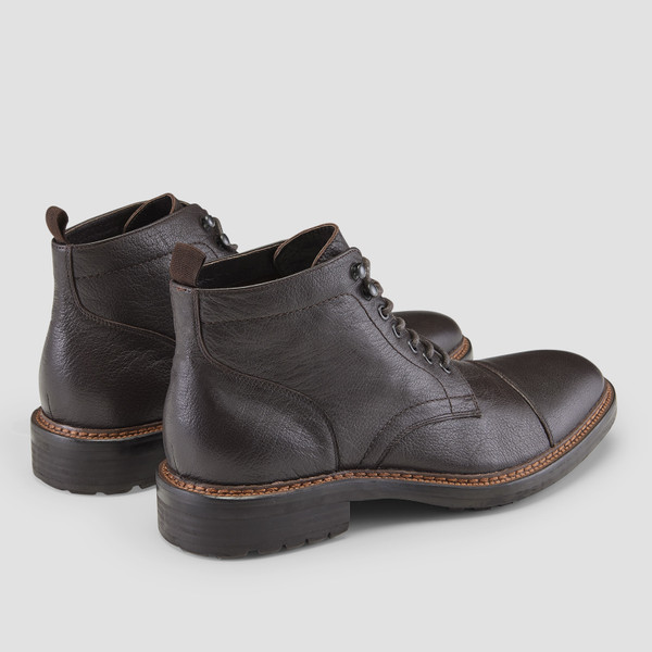Dunston Brown Military Boots